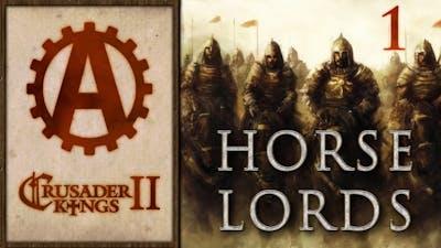 Crusader Kings 2 Horse Lords Let's Play 1