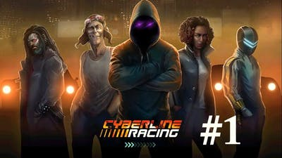 Cyberline Racing [iOS, Android] Gameplay # 1 ►HD◄