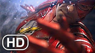 JUSTICE LEAGUE Flash Vs Future Green Lantern, Future Aquaman Fight Scene Cinematic - Injustice 2
