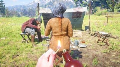 🧨Dynamite & Fire Bottle Gameplay #20 - Red Dead Redemption 2