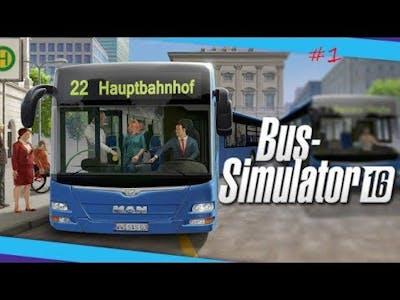 Bus Simulator 2016 Gold edition Gameplay ITA #01 passeggiero ubriaco