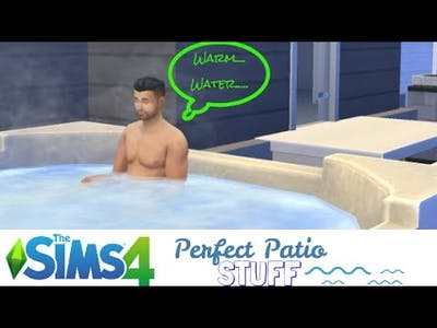 The Sims 4 Perfect Patio Stuff Only!!