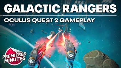Galactic Rangers VR - Gameplay PC VR (Oculus Rift, HTC Vive, Valve Index)