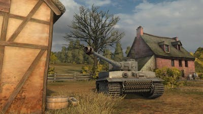 ◀World of Tanks - Eye of the Tiger