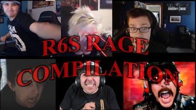 R6S *RAGE* Compilation | Streamer Edition