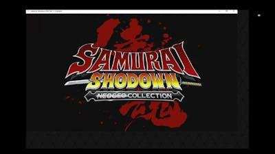 SAMURAI SHODOWN NEOGEO COLLECTION, PC ( Epic,  Geforce Now )