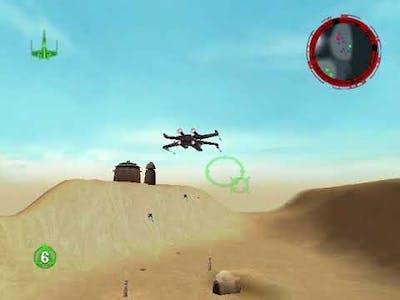 Star Wars Rogue Squadron 3D - Mission 1 - Ambush at Mos Eisley