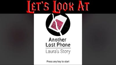 Let's Look At: Another Lost Phone