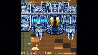 [HD] Varth Operation Thunderstorm Stage 29-30 End 1992 Capcom Mame Retro Arcade Games