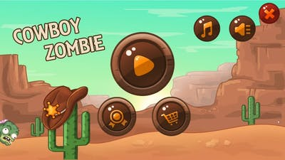Let's get stressed in; Cowboy zombie - Odd little math game...