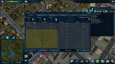 Cities in Motion 2 - Timetables tutorial