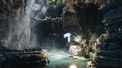 In-Game Lands of Titanfall 2: IMC Territory V