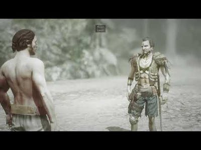Risen 3: Titan Lords - max level difficulty with weakest character - Shadows survival gameplay
