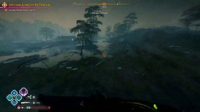 getting the drivable mech rage 2