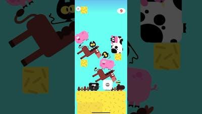 Farm animals stacking game (Lingokids)