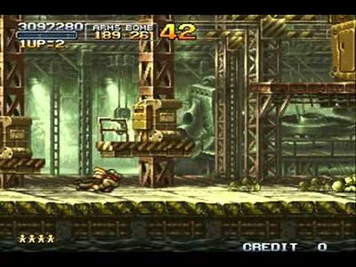 metal slug 2 mission 6 level 8 NO DEATH 1 - 2