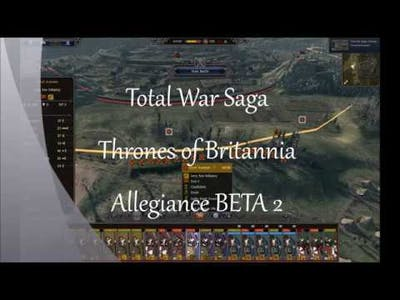 "Total War Saga: Thrones of Britannia BETA2 BUG - ""One does not simply walk into Mordor!"""
