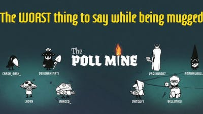 The Poll Mine - Answer Polls And Try To Survive! | JACKBOX 8