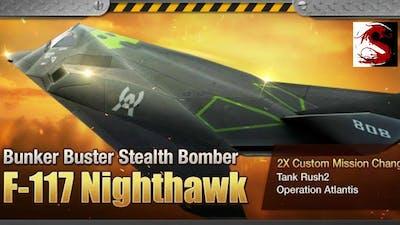 "Gunship Battle [Update] New Plane ""F-117 Nighthawk"""