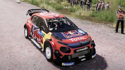 WRC 9 - Citroen C3 WRC - Car Show Crash Test Drive .