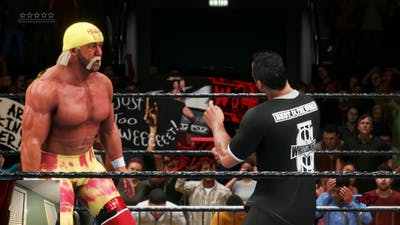 SHANE O MAC AND HOGAN TEAM UP AGAINST HALLS AND NASH!! WWE 2K20 DELUXE EDITION