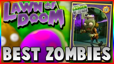 Plants vs Zombies Halloween Special | MY FAVORITE ZOMBIES & LAWN OF DOOM