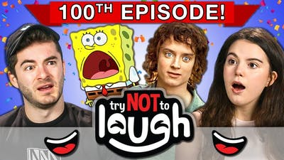 Try To Watch This Without Laughing or Grinning | 100th Episode (React)