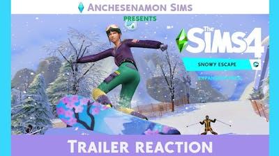 Snowy Escape Trailer Reaction