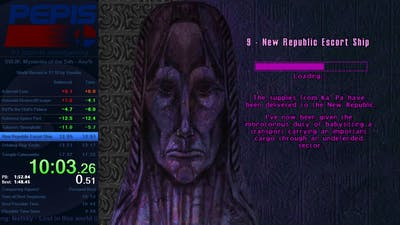 Star Wars Jedi Knight: Mysteries of the Sith Any% Speedrun in 17:23