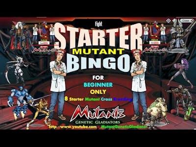 Mutant: Genetic Gladiator - Starter Mutant Cross Breed *Beginner MGG Player*