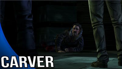 The Walking Dead Game Season 2 - Carver's Death Scene