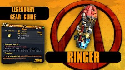"""Borderlands 3 """"Ringer"""" Legendary Gear Guide!"""