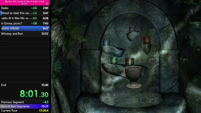 Barrow Hill Curse of the Ancient Circle Any% Speedrun Wr 15:13