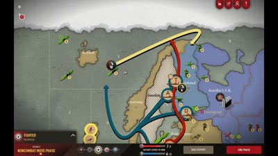 Axis and Allies 1942 Online: Recovering from a bad opener #7