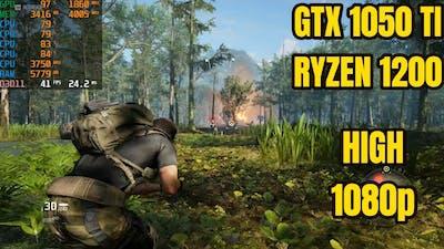 Tom Clancy's Ghost Recon Breakpoint   GTX 1050 Ti   Ryzen 3 1200   High 1080p