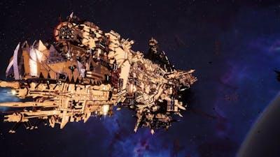 Skalgrim Mod 2021: Gorka Morka - Orks vs Imperial Navy - Battlefleet Gothic Armada 2