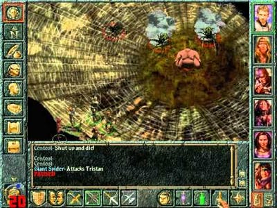 Baldur's Gate Playthrough 58 - Cloakwood 2, Spider Queen