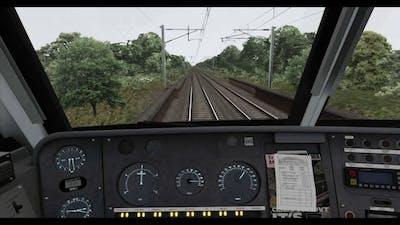 Train Simulator 2017: Ipswich to London Liverpool Street Timelapse