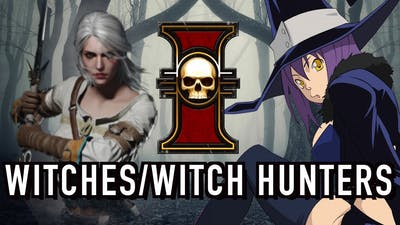 40 Facts & Lore on Witches & Witch Hunters in Warhammer 40k
