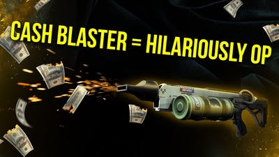 [Payday 2] The Cash Blaster is Hilariously OP! (Build Video)