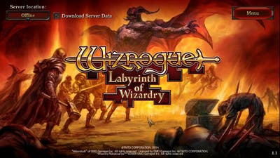 Wizrogue Labyrinth of Wizardry Impression!!