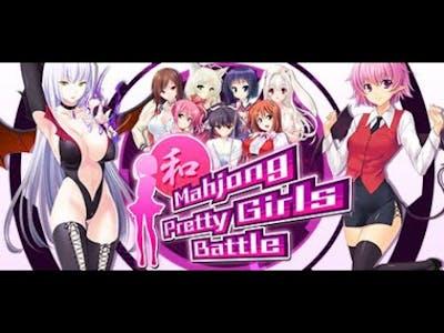 Mahjong Pretty Girls Battle Gameplay - First Look