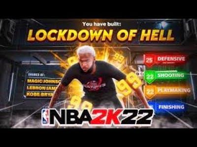 NBA 2K22 GAME BREAKING BEST LOCKDOWN BUILD IS A DEMIGOD! *INSANE* Best Build + Badges! NBA2K22