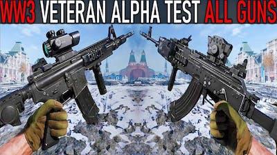 World War 3: All Weapons  [VETERAN ALPHA TEST 2021]