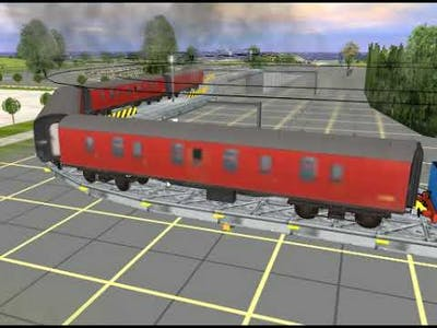 Who will survive and not crash in trainz! (Trouble In Trainz-town)