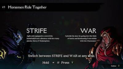 Darksiders Genesis Gameplay. Playing as Strife