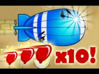Hyperspeed Game Mode in Bloons TD Battles! x10 Bloon Speed Mod (BTD Battles)
