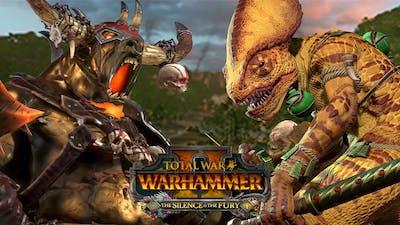 The New WARHAMMER II DLC Is: Lizardmen vs Beastmen // Reaction, Multiplayer Battle