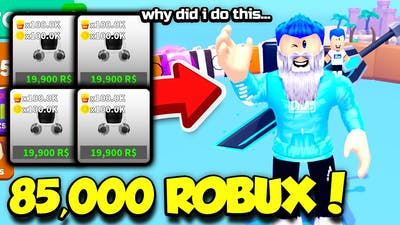 BUYING THE 20,000 ROBUX PET IN GROW UP SIMULATOR 4 TIMES!! *60k ROBUX* (Roblox)