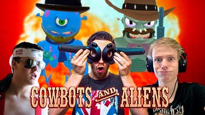 COWBOTS AND ALIENS WITH NATHIE AND TALI! - HTC Vive Gameplay